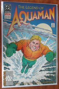 The Legend Of Aquaman #1 8.0 VF (1989)
