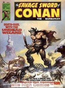 SAVAGE SWORD OF CONAN (MAGAZINE) (1974 Series) #10 Fine