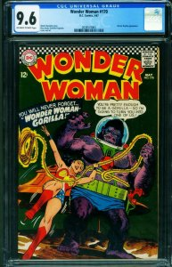 Wonder Woman #170 CGC 9.6 1967- DC Silver Age 2039574003