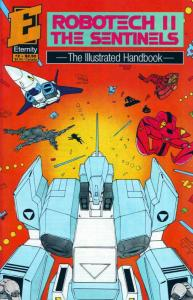 Robotech II: The Sentinels: The Illustrated Handbook #2 VF/NM; Eternity | save o