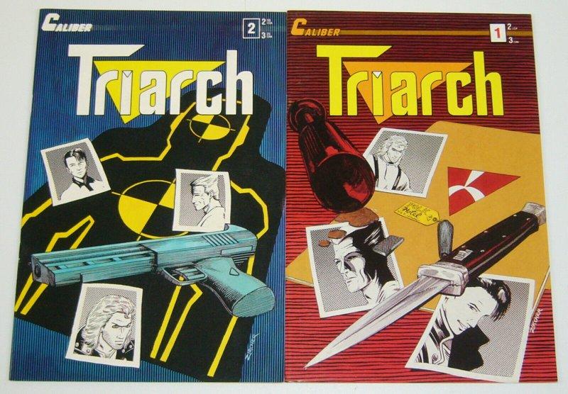 Triarch #1-2 VF/NM complete series - caliber comics - patrick zircher set lot