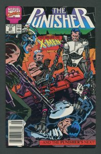 Punisher #33 / 9.4 NM  Newsstand   May 1990