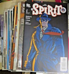 THE SPIRIT #1-30 Darwyn Cooke DC Comics (February 2007 - August 2009) Eisner