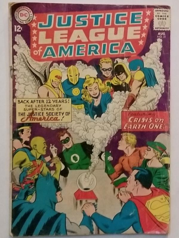 Justice League of  America #21 1961
