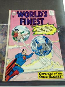World's Finest 114 GD/VG Early Silver Age DC Superhero