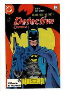 4 Detective Comics Feat. Batman DC Comic Books # 575 576 577 578 Year 2 Two OF2