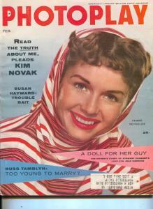 Photoplay-Debbie Reynolds-Susan Hayward-Stewart Granger-Feb-1956