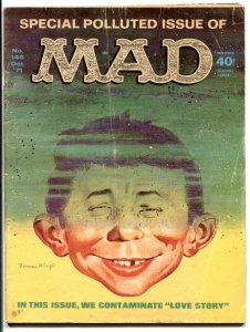 Mad Magazine #146 1971- Special POLLUTED issue VG-