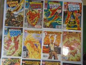 Saga of the Original Human Torch 17 Different, 2nd Series+1990 Saga+Time Reprint