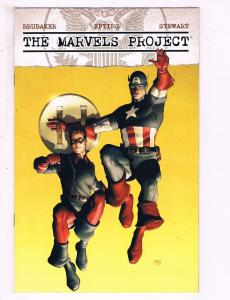 The Marvels Project #7 Of 8 VF Marvel Comics Comic Book Brubaker Bucky DE14