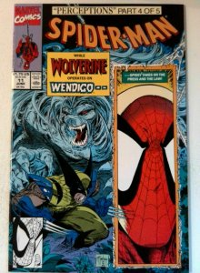 Spider-Man #11 Marvel 1991 NM- Copper Age 1st Printing Comic Book