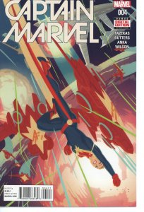 Captain Marvel 4 (2016 series) 9.0 (our highest grade)
