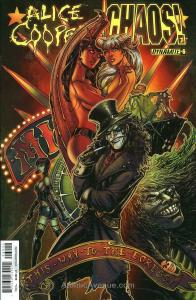 Alice Cooper Vs. Chaos! #6A VF/NM; Dynamite | save on shipping - details inside