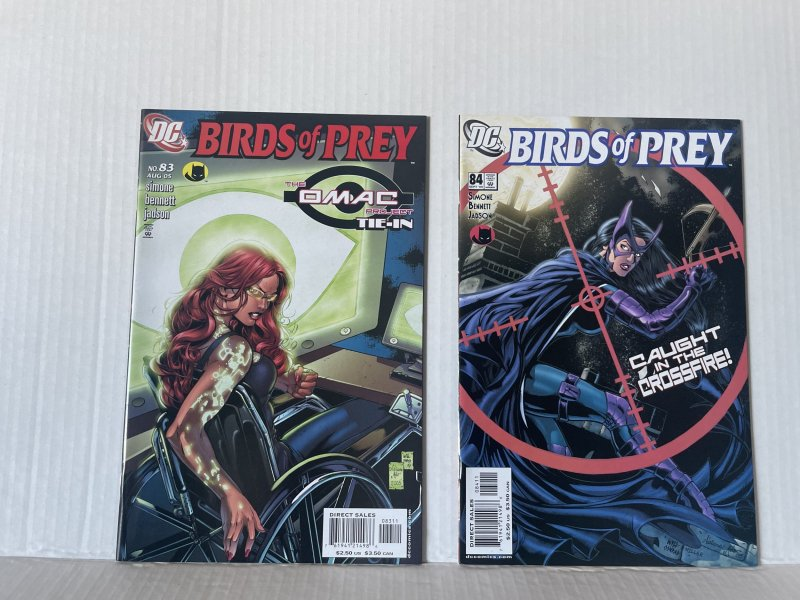 Birds of Prey #83 and 84 (2005) Unlimited Combined Shipping