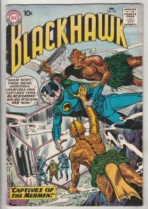 Blackhawk #145 (Feb-66) VG/FN Mid-Grade Black Hawk, Chop Chop, Olaf, Pierre,C...