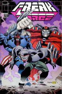 Freak Force (Mini-Series) #2 VF/NM; Image | save on shipping - details inside