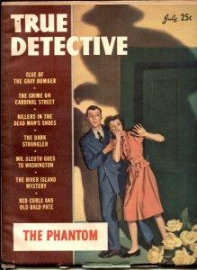 True Detective Magazine July 1946- THE PHANTOM
