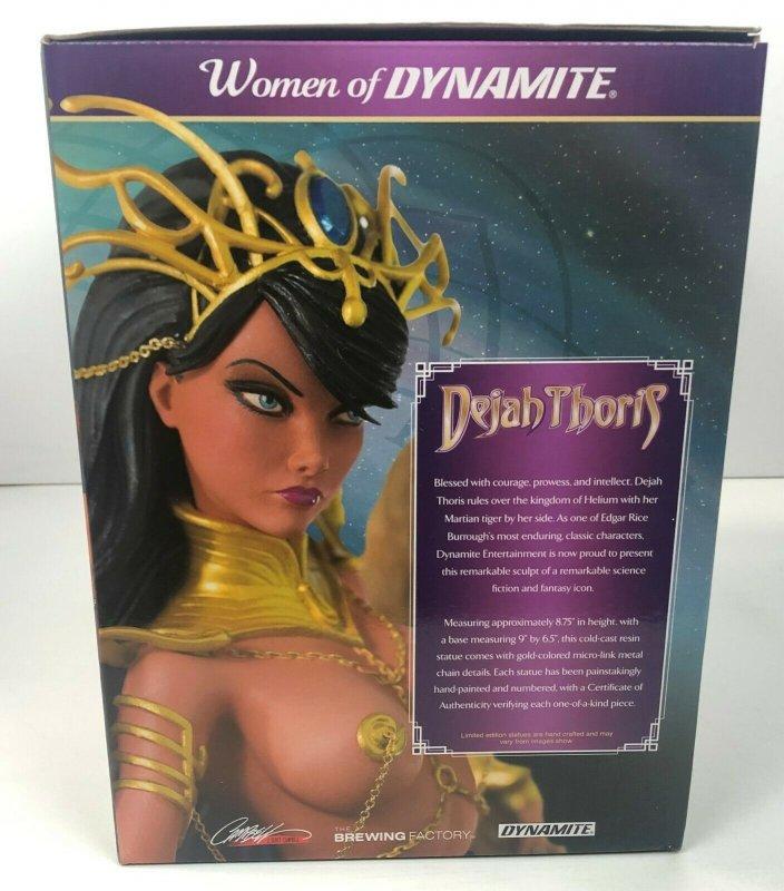 Women of Dynamite Dejah Thoris Statue Bronze Edition 43/99 J Scott Campbell NEW