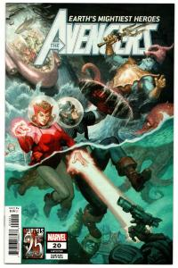 Avengers #20 Marvels 25th Tribute Variant (2019) NM