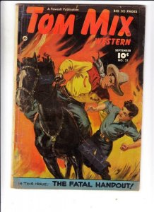 Tom Mix Western # 20 strict VG- appearance Tumbleweed Jr.