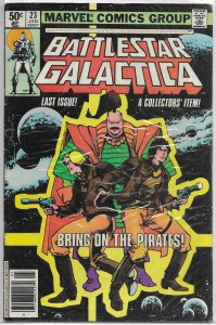 Battlestar Galactica   (Marvel)   #23 VG