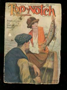 TOP-NOTCH MAY 1 1924 STREET AND SMITH WEIRD ADVENTURE FR