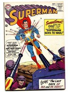 SUPERMAN #161 comic book 1963-DC COMICS-DEATH OF THE KENTS