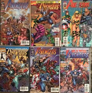 AVENGERS VOLUME 2 (MARVEL)#7-12 NM CONDITION 6 BOOK LOT