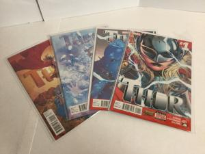 Thor 1 2 3 5 Lot Set Run Nm Near Mint (2014) Marvel Comics A50