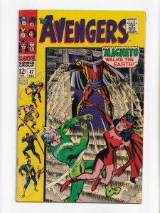 Avengers #47 1st Appearance Dane Whitman as Black Knight Marvel Comics 1967