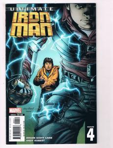 Ultimate Iron Man # 4 NM Marvel Comic Book Avengers Hulk Thor War Machine S80