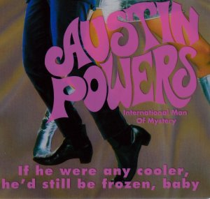 Austin Powers Exclusive Holographic TC