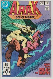ARAK SON OF THUNDER #11 - JULY 1982 - DC - BAGGED & BOARDED