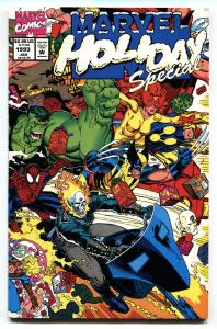 Marvel Holiday Special 1993-Thanos and baby Gamora-comic book