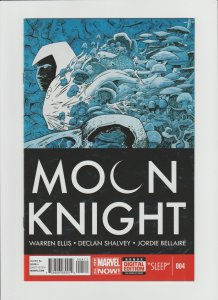 Moon Knight #4 (2014) NM 9.4 High Grade! Warren Ellis Script!!