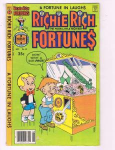Richie Rich Fortunes #42 VF Harvey World Comic Book DE19