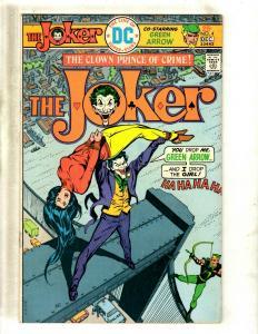 The Joker # 4 FN/VF DC Comic Book SIGNED By Julius Schwartz Batman Gotham J371