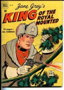 King of The Royal Mounted-Four Color Comics #310 1951-Dell-Zane Grey-Jim Gary-VG