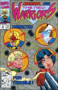 Marvel THE NEW WARRIORS (1990 Series) #35 NM-