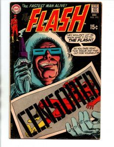 Flash #193 - Captain Cold - 1969 - Very Good