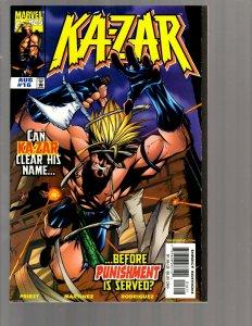 11 Marvel Comics Ka-Zar #16 17 18 19 20 Killraven #1 2 3 4 5 6 Barbarian GK34