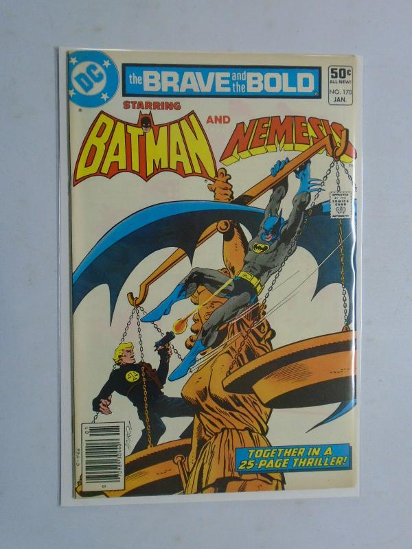 Brave and the Bold (1st Series DC) #170, 7.0 (1981)