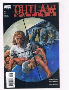 Outlaw Nation #15 VG/FN DC Comics Vertigo Comic Book Jan 2002 DE38 AD11