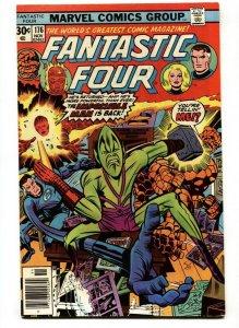 FANTASTIC FOUR #176 Marvel 1976 comic book VF/NM