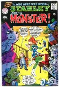 Stanley and His Monster #109 1968- 1st issue- record cover VF