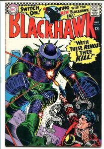 BLACKHAWK #232-DC-Cool cover! - High Grade! VF