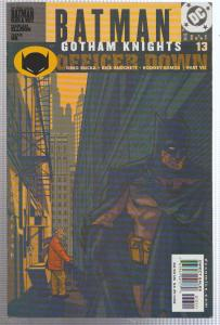 BATMAN GOTHAM KNIGHTS #13 - DC COMICS - BAGGED,& BOARDED - 2001