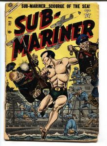 Sub-Mariner #37 1954- Atlas Comics- Namora- Commies Joe Maneely