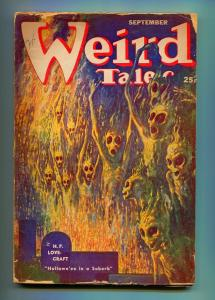 WEIRD TALES SEPTEMBER 1952-WEIRD TALES-VIRGIL FINLAY-FR