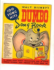 Walt Disney's Dumbo Song Book Irving Berlin Book Snow White Auld Lang Syne JL16
